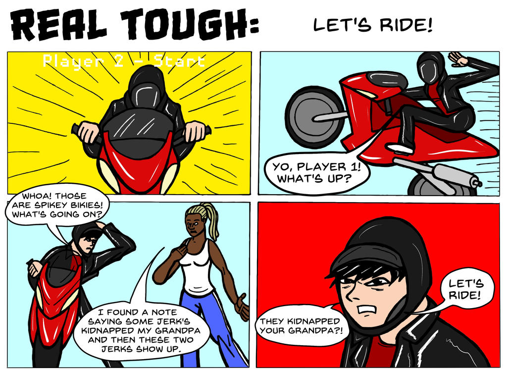 Real Tough: Let's Ride! by JeanPaulRobin