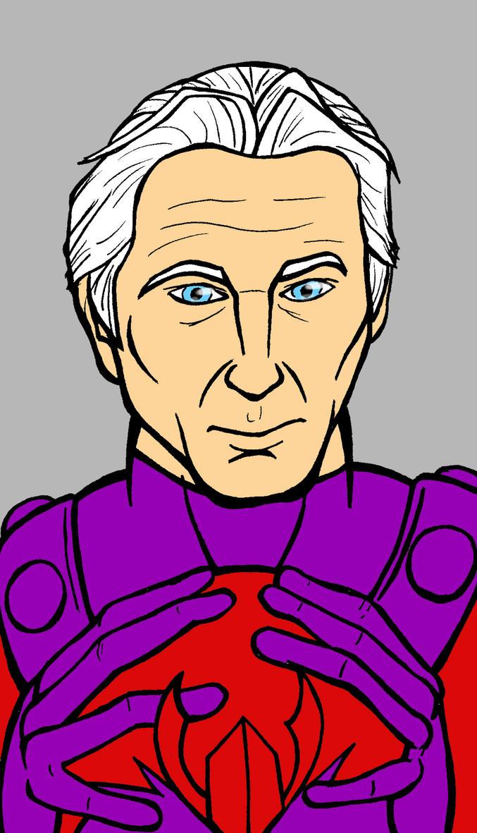 Magneto Portrait by JeanPaulRobin