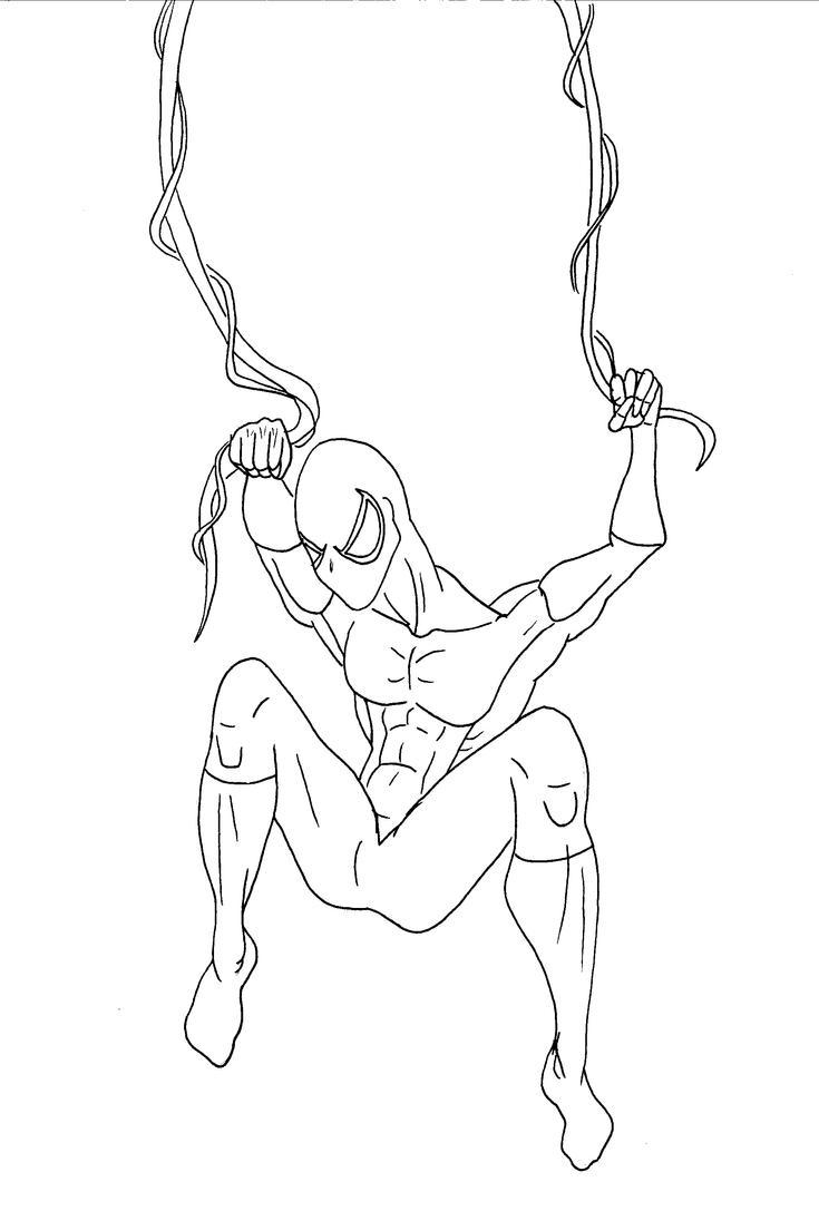 Spider-man-Thin-Lines by JeanPaulRobin