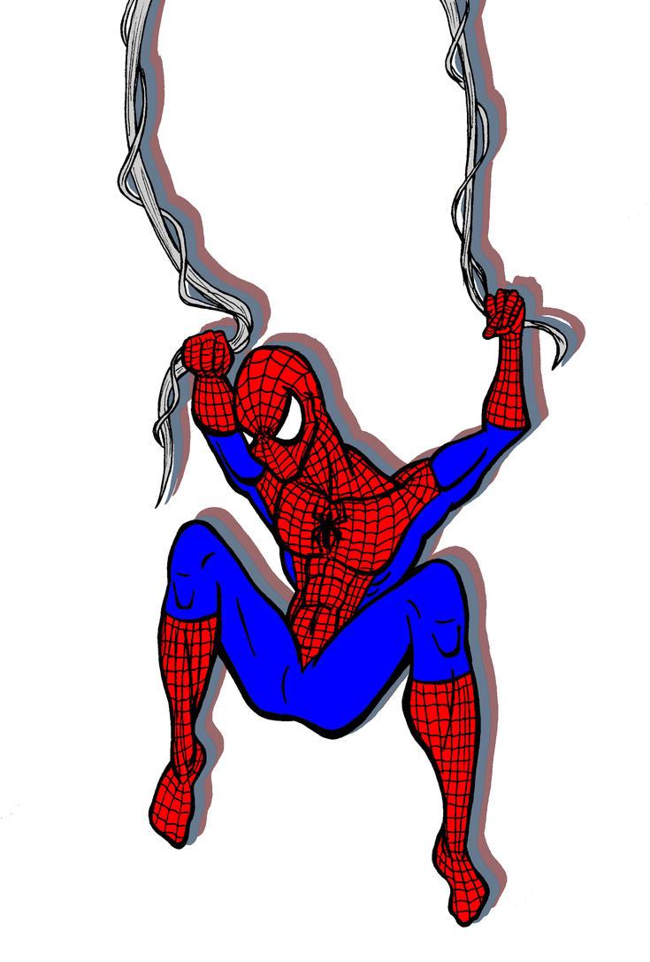 Swingin' Spidey by JeanPaulRobin