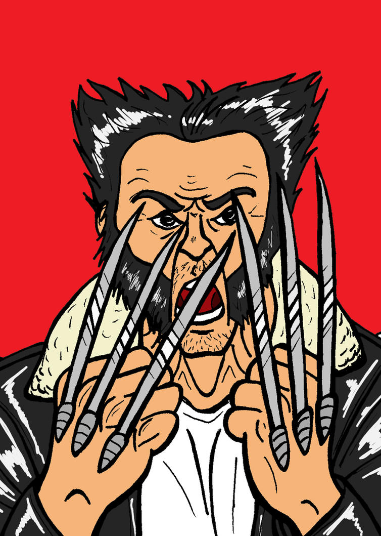 Angry Logan by JeanPaulRobin