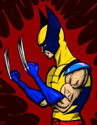 Wolverine Bust by JeanPaulRobin