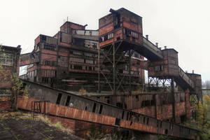 Industrial monster by SimonGresko