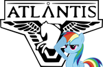 SGA and Rainbow Dash - high res