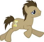 Running Doctor Whooves