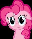 Pinkie Pie perplexed