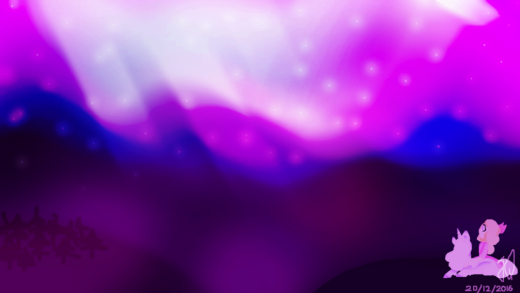 Northern Lights by TheCatQueen10