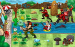 Plants VS Team Fortress