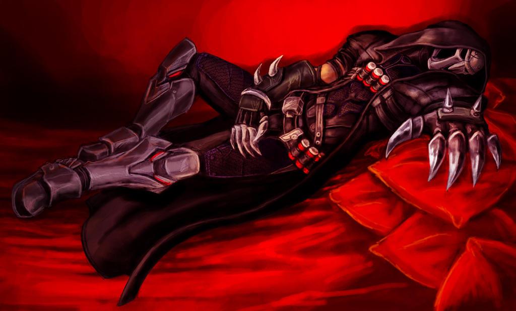 Resting Reaper by furball891