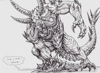 Diablo VS Kael'thas by furball891