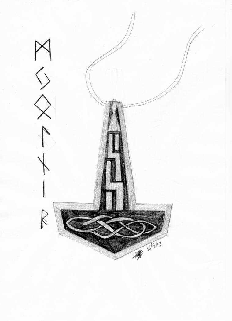 Mjolnir-Norse by ThetaKoshei