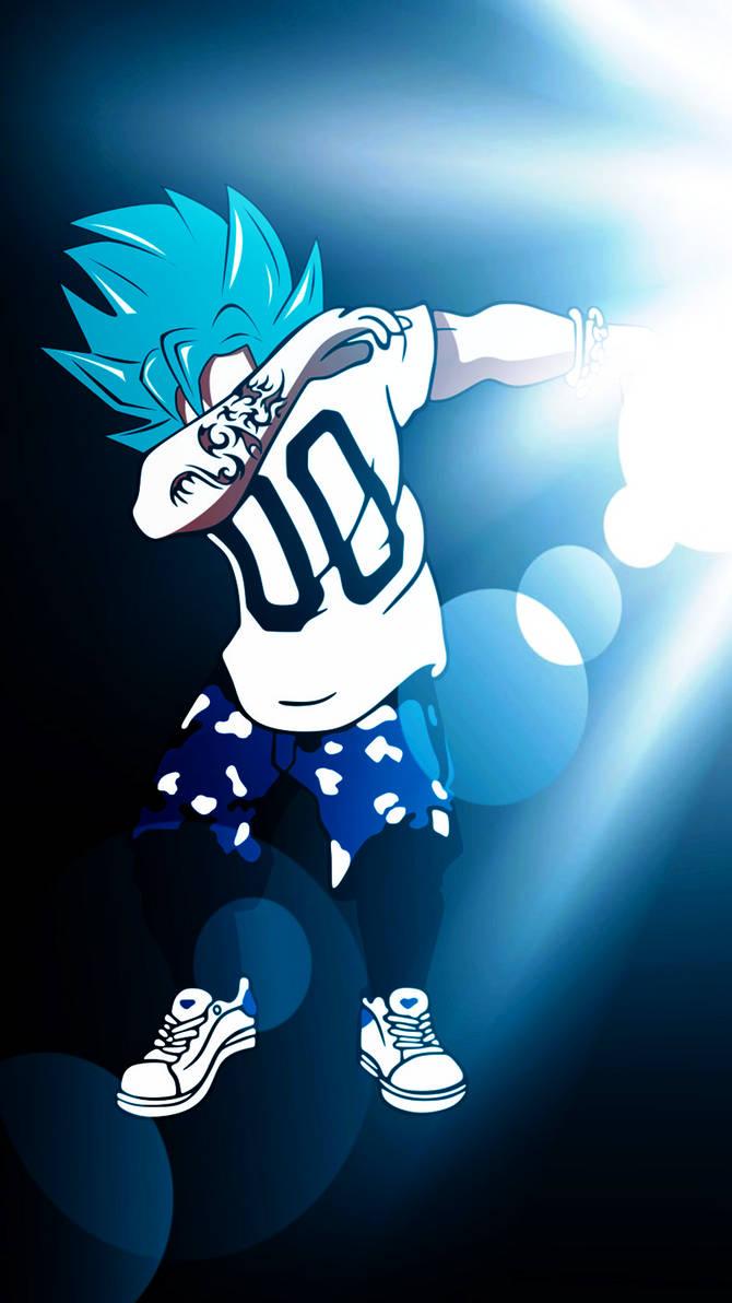 Goku SSGSS DAB Wallpaper Mobile by Hokage455 ...