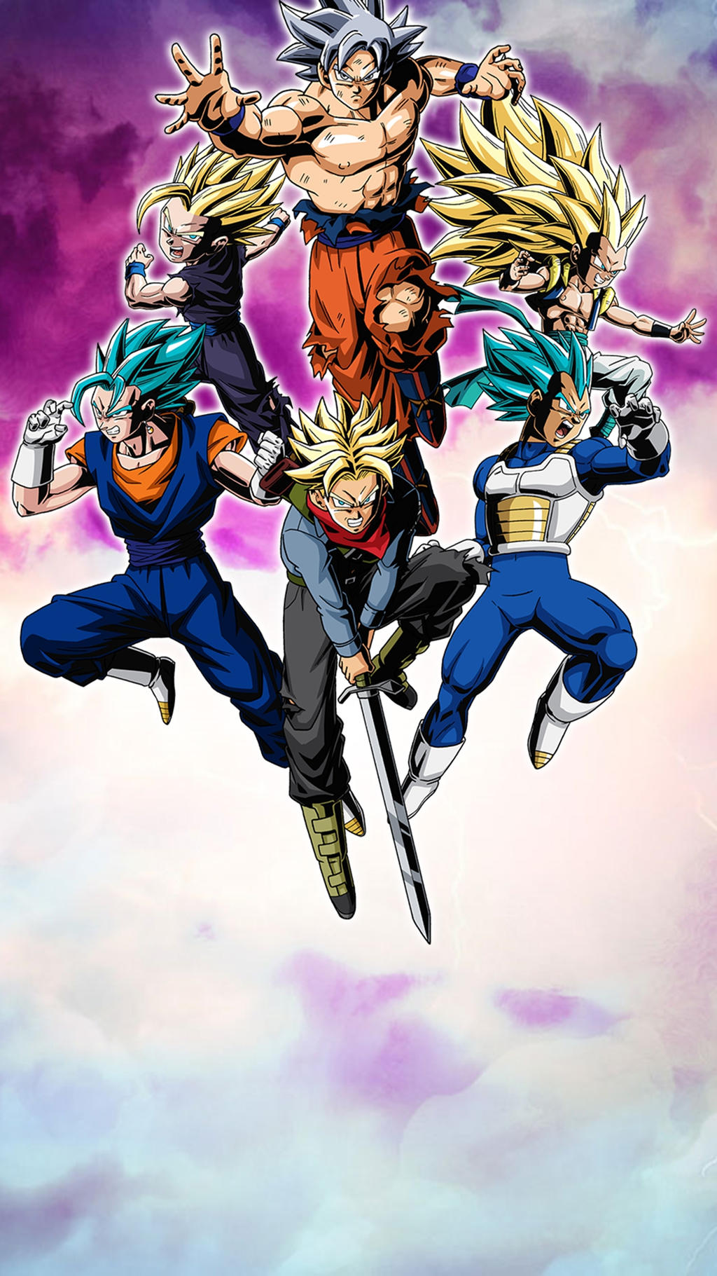 Super Dragon Ball Heroes Wallpaper Mobile By Hokage455 On Deviantart