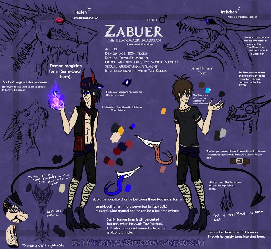 ZauberRef - AHAH I MISSPELLED HIS NAME LMAO by MutantParasiteX