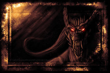 Hissing in Darkness by MutantParasiteX