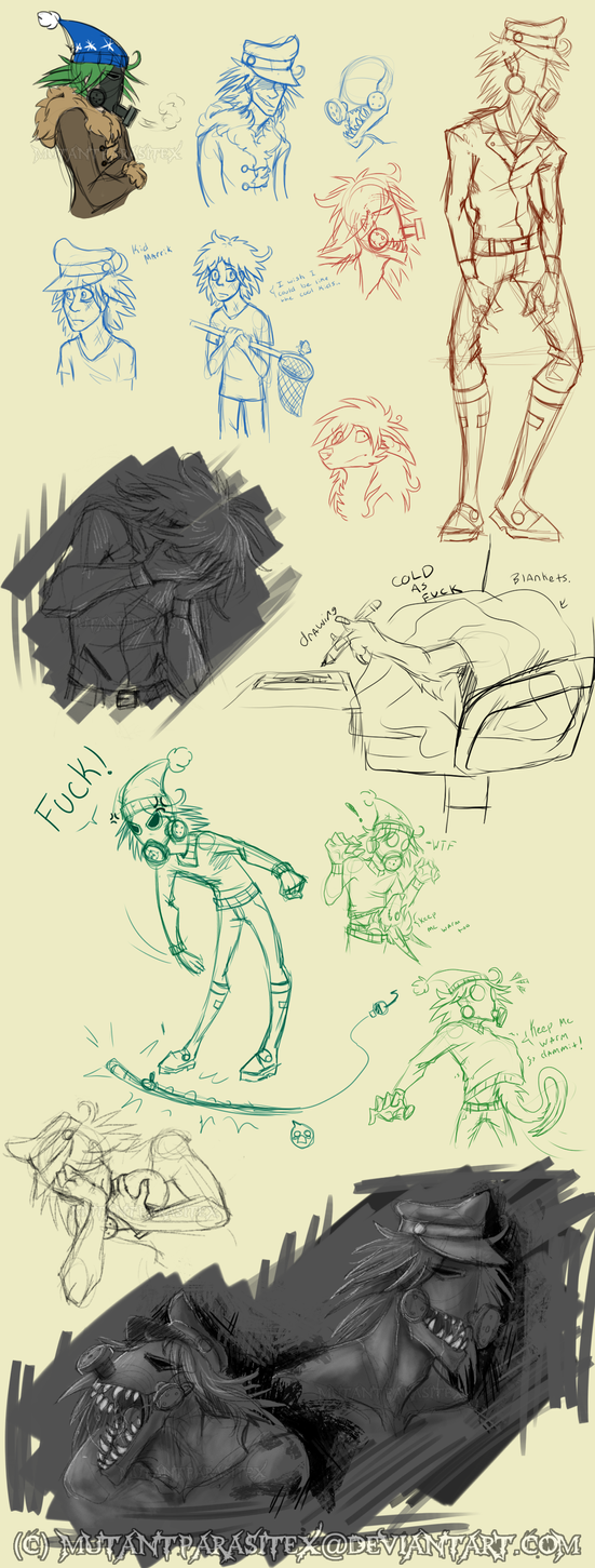 Marrik sketch page3 by MutantParasiteX