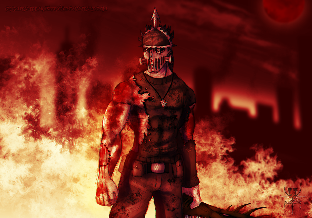I'm Back by MutantParasiteX