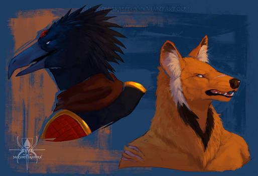 AF  Kuronue and Arkan