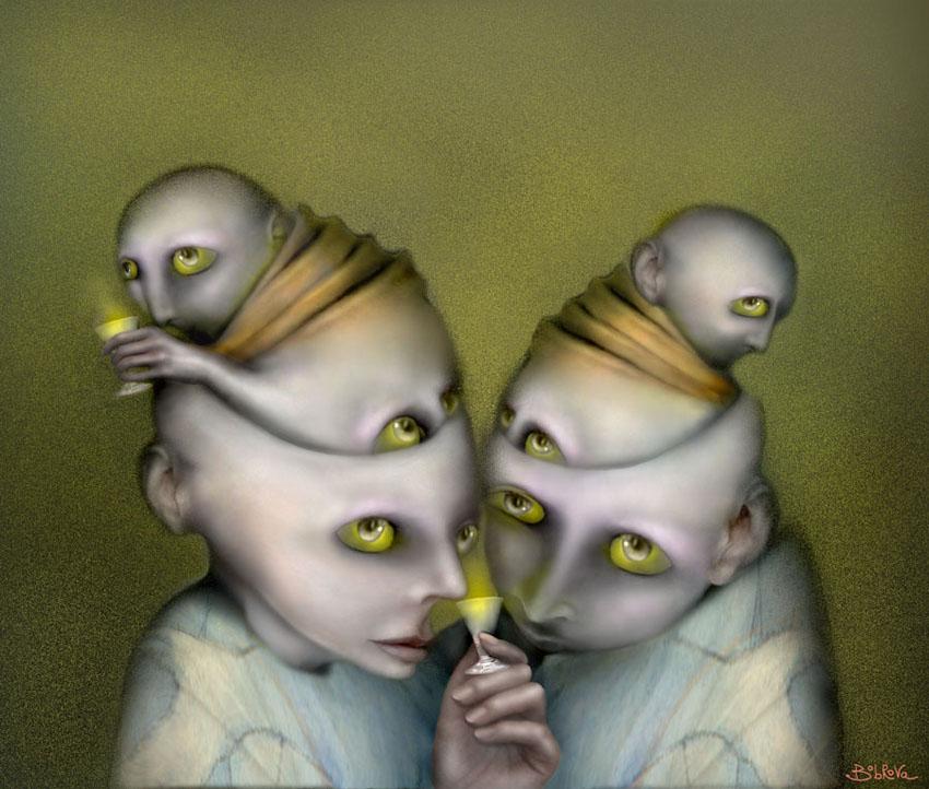 Chartreuse by Bobrova