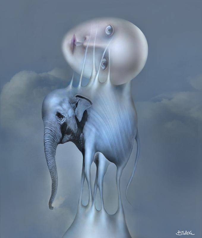 Blue dreams by Bobrova