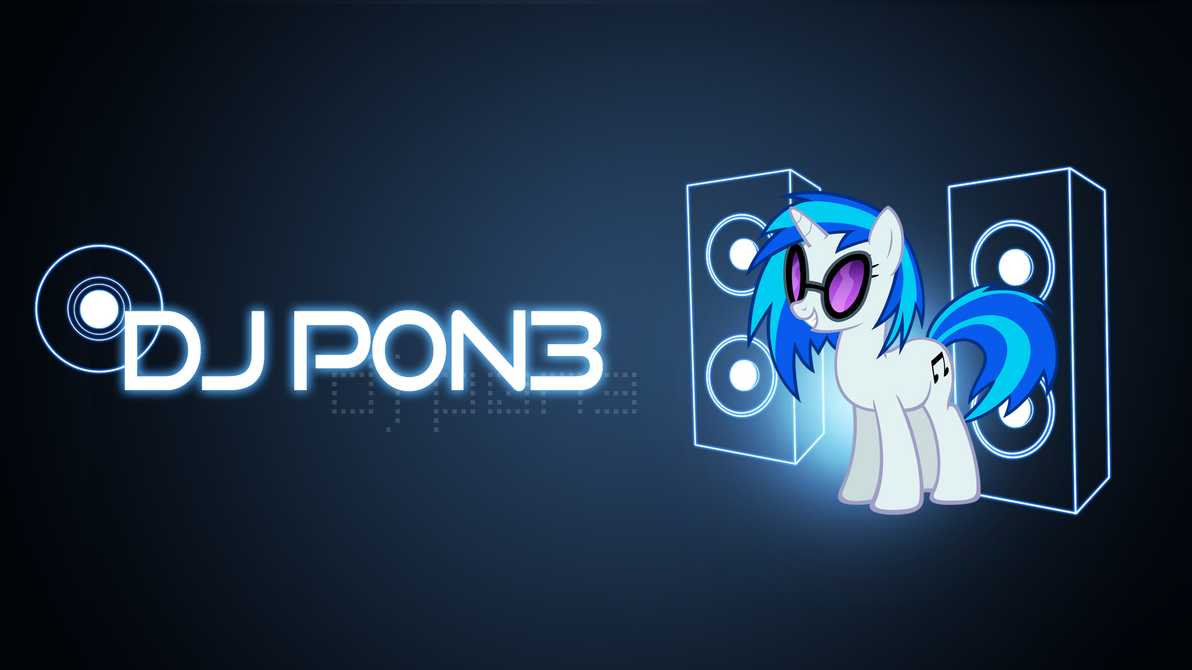 DJ P0N3 Wallpaper by xFlicker