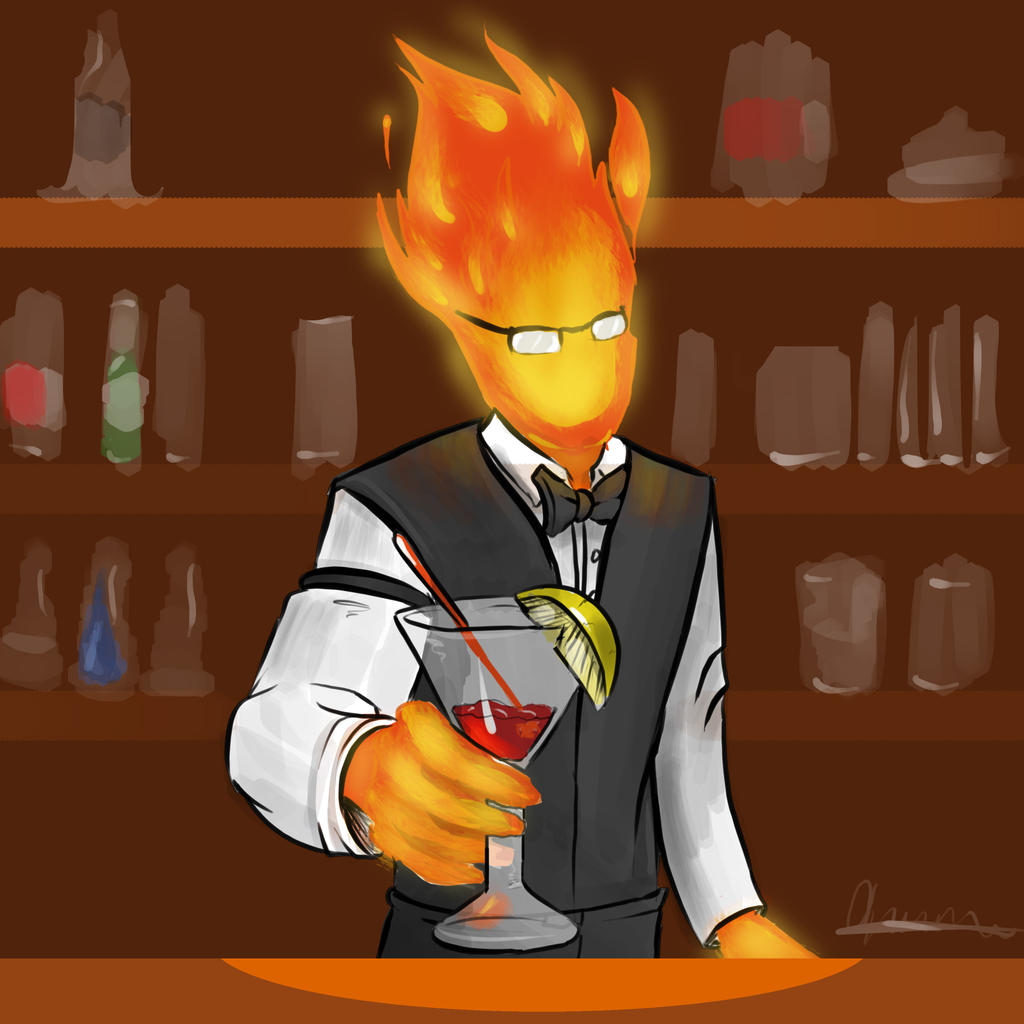 Grillby <b>Wallpaper</b> by Arxielle on DeviantArt