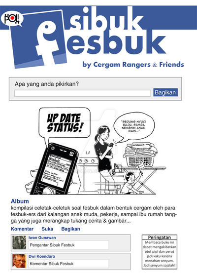 Sibuk Fesbuk by MFBroken