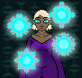 random magic lady by Electrosion