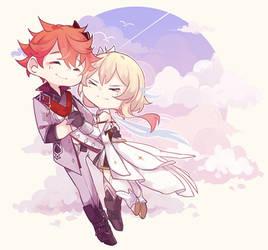 Couple childe lumine