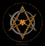 Ouroboros and Unicursal Hexagram II by KainMorgenmeer