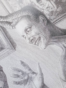 We, the Devil and I_Print, detail