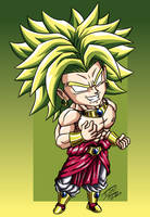 Broly chibi by Phosphobos