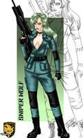 Sniper Wolf (Metal Gear Solid) Fanart