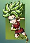Chibi Super Saiyan Kale by Phosphobos