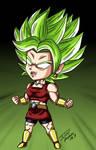 Chibi Super Saiyan Kale (Berserk) by Phosphobos