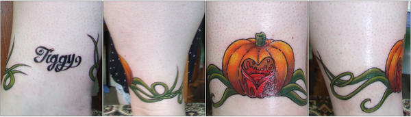 pumpkin tattoo FINALLY