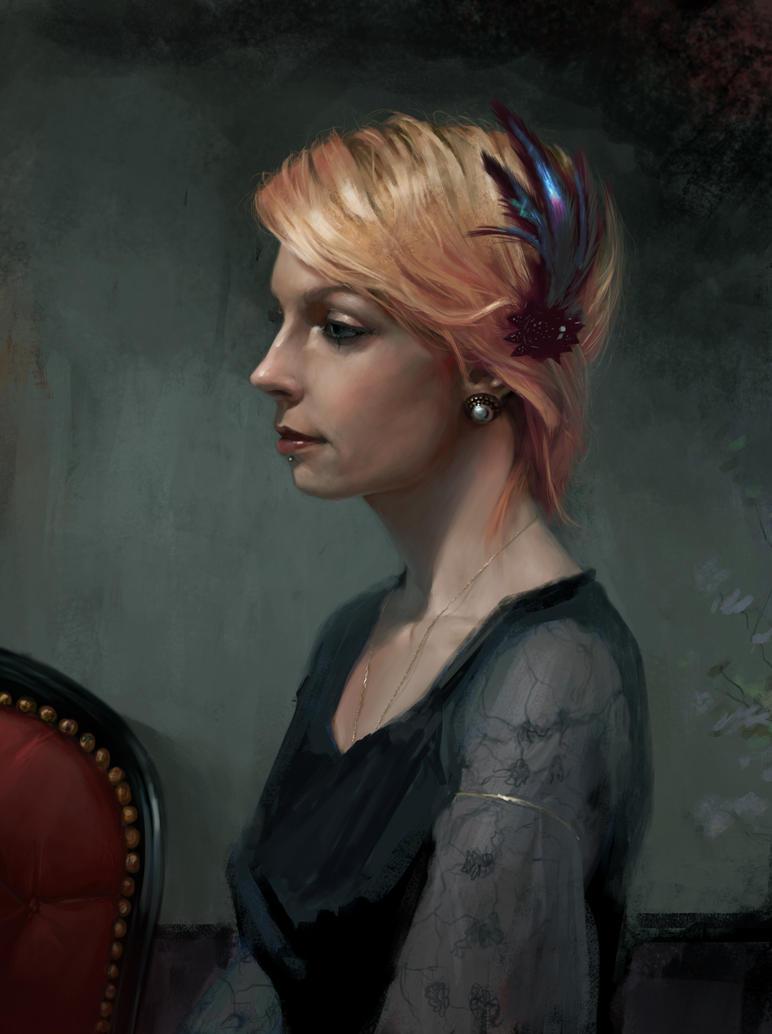 my lovely Marie by JulienLasbleiz