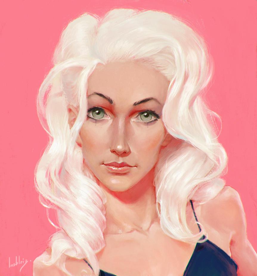 Pinky white by JulienLasbleiz