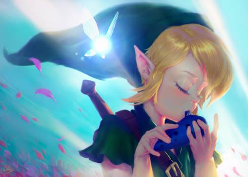 Hero of time - Zelda fan art (Ocarina of time)