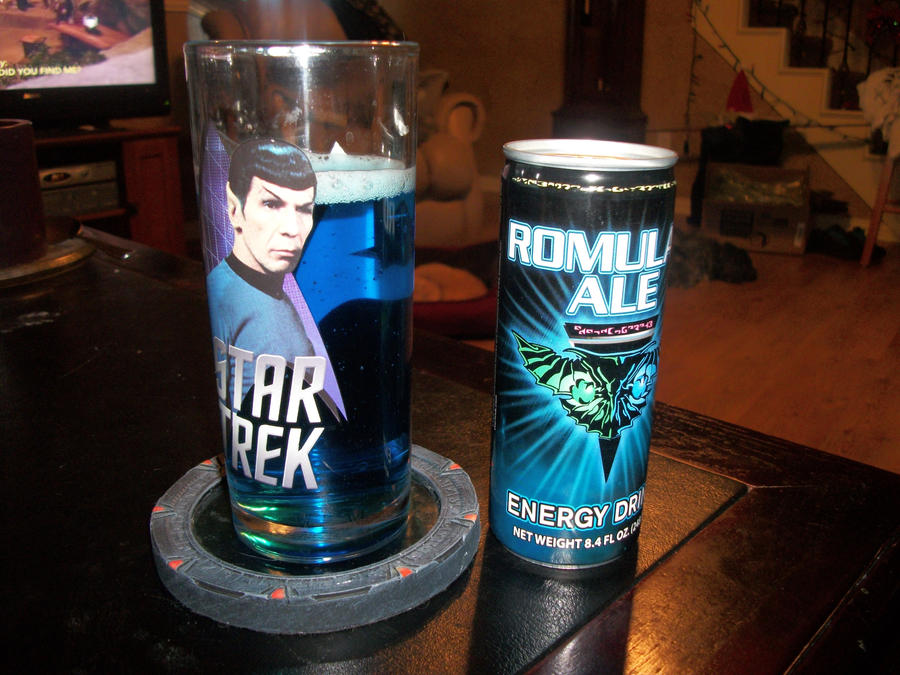 Romulan Ale by StrawberryDethMetal