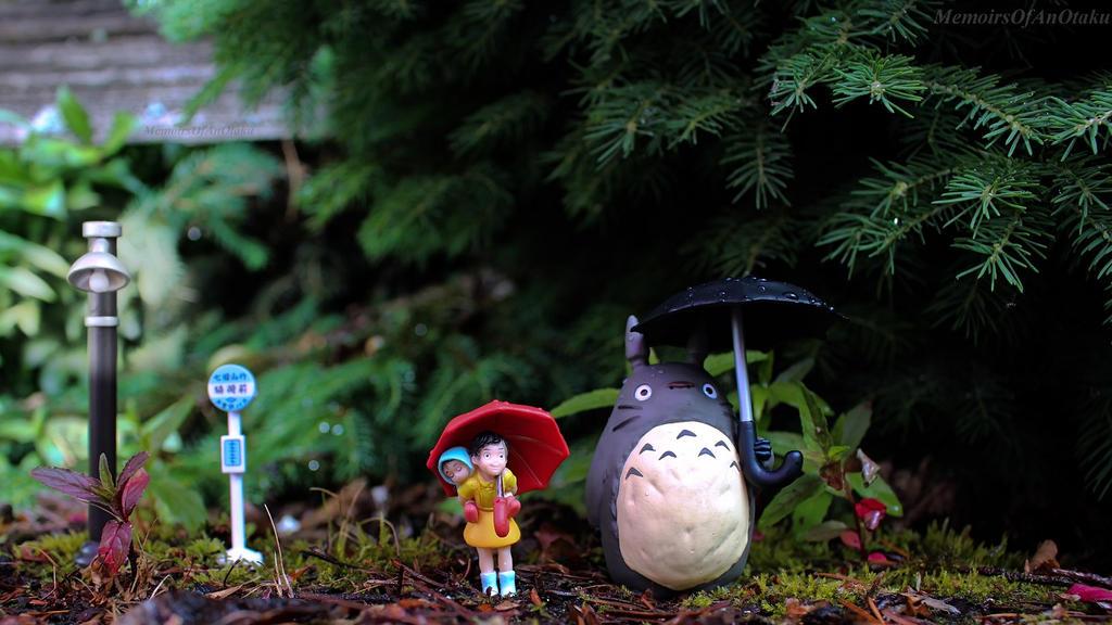 Meeting Totoro by MemiorsOfAnOtaku