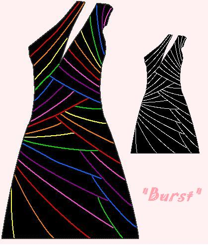 Blacklight Party Dress By Bluemoonsenshi ...