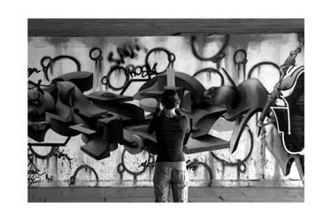 Wallpaper a la Graffiti by GFXPunk