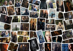 Clexa collage