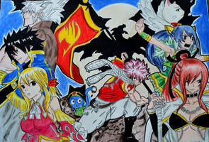 Team Fairy Tail by gabito852