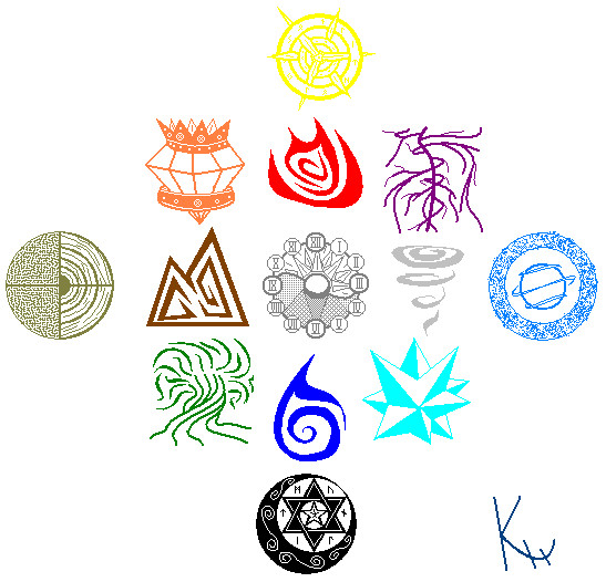 Elements Wheel V2 By 6wingdragon On Deviantart