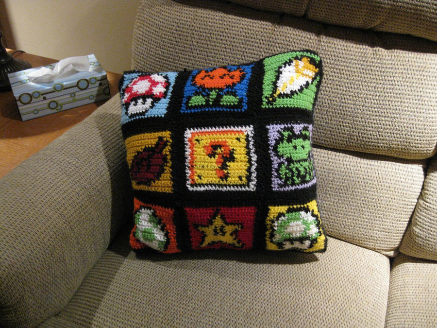 Super Mario World Pillow 5 by RTakeshi