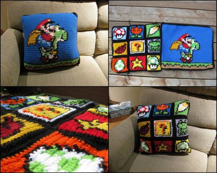 Super Mario World Pillow by RTakeshi