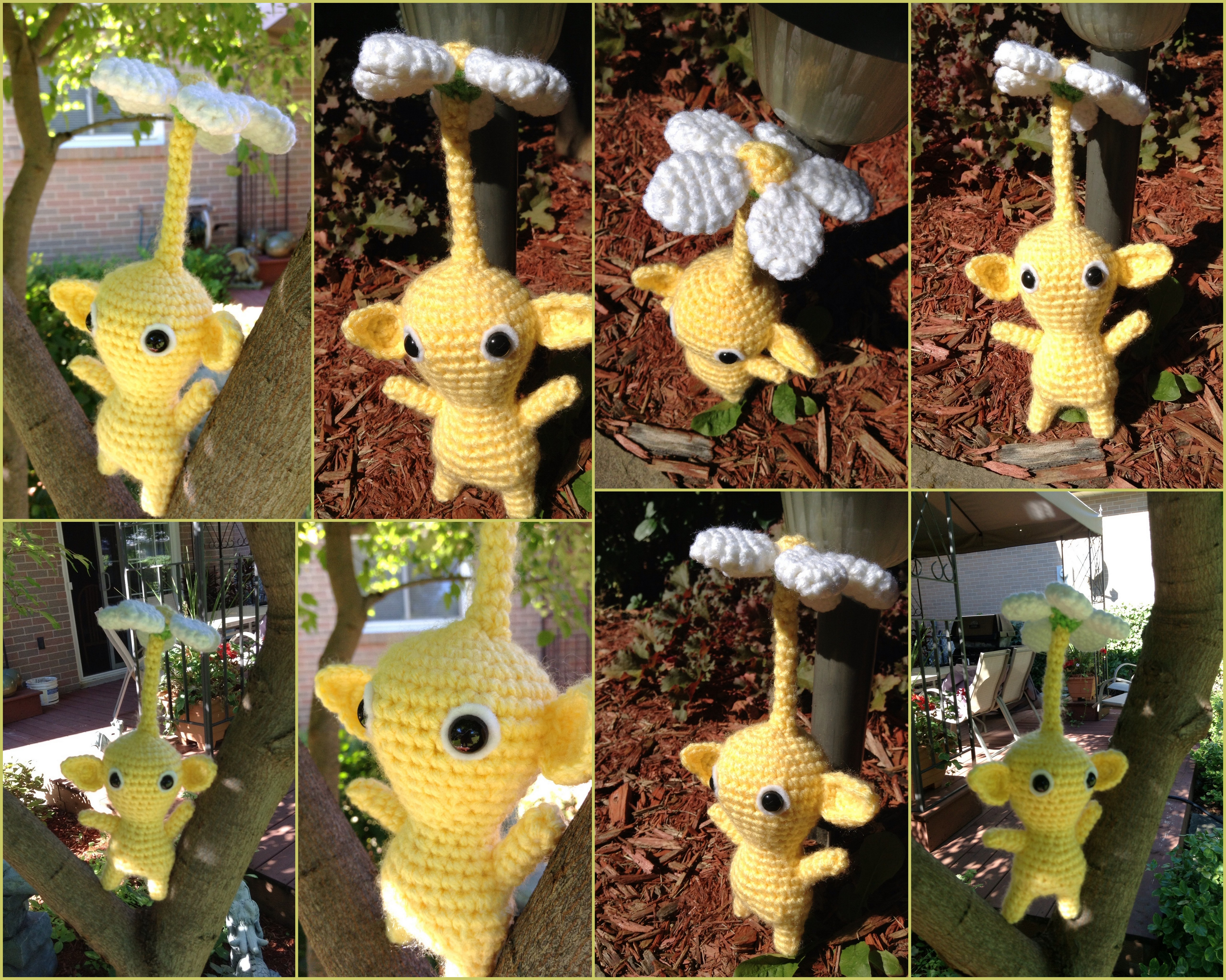 Yellow Pikmin Amigurumi by RTakeshi