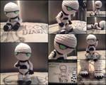 Marvin the Paranoid Android Amigurumi